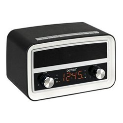 Radio Despertador Denver CRB619 Black