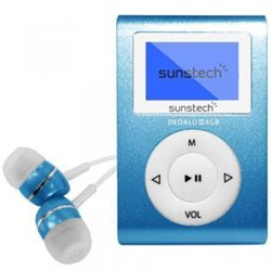 MP3 Sunstech DEDALOIII4GBBL AZUL 4GB