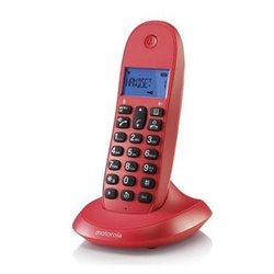 Telefono Motorola C1001LB CEREZA DECT