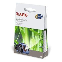 Ambientador de aspiradoras AEG ASBA Crispy Bamboo-Pack 4 sobres