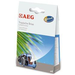 Ambientador de aspiradoras AEG ASCO Tropical Breeze-Pack 4 sobres