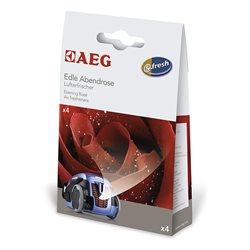 Ambientador de aspiradoras AEG ASRO Evening Rose-Pack 4 sobres