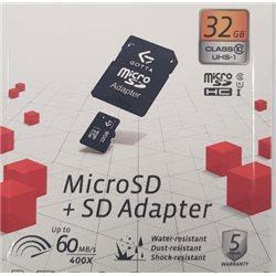 Tarjeta Memoria CANESPA 1252 Gotta MicroSd 32gb Clase10+Sd Adapter