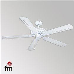 Ventilador techo FM VTCLASSIC105B, blanco anea,luz   eBay