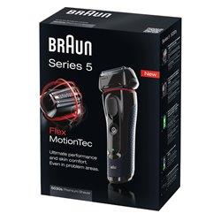 Afeitadora Braun 5030SERIE5, FlexMotionTec