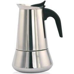 Cafetera Orbegozo KFI960, 9 tazas, Inox, induccio