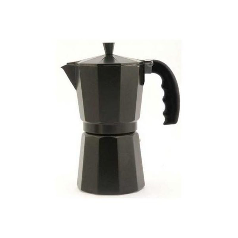 Cafetera inox Orbegozo KFN310, 3 tazas, aluminio a