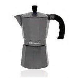 Cafetera de aluminio SILVER Orbegozo KFS620, 6 ta