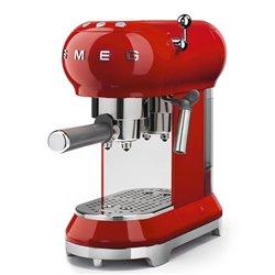 Cafetera Smeg ECF01RDEU expresso Roja