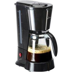 Cafetera goteo Jata CA288, 600w, 8 tazas, negra, o