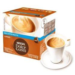 Pack Cafe Lungo Descafeinado Nestle Dolce Gusto