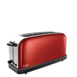 Tostador Russell Hobbs 2139156 Ranura Larga, Rojo
