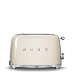 Tostador SMEG TSF01CREU Crema 2 tostadas
