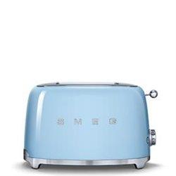 Tostador SMEG TSF01PBEU Azul celeste 2 tostadas