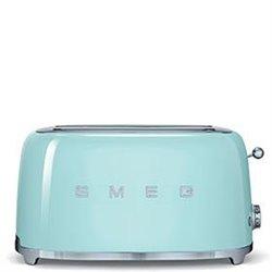 Tostador SMEG TSF02PGEU Verde agua 4 tostadas