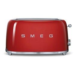Tostador SMEG TSF02RDEU Rojo 4 tostadas