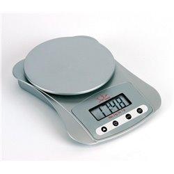 Balanza cocina Jata Hogar 709N 3kg, digital, plata