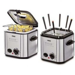 Freidora Princess 182611, Mini Fryer & Foundue 1.W