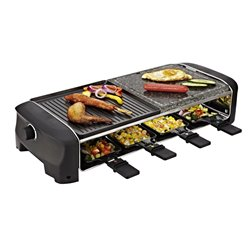 Raclette Princess 162820, Family 8 Funcook, Stone,