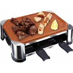 Grill-raclette Jata GT202, 500w, 28x18cm, 2 racle.