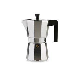 Cafetera Valira Vitroceramica 3 tazas, Aluminio