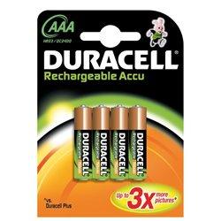 Pila Duracell Recargable AAA LR03 750 mAh B4